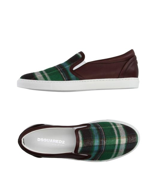 DSquared² Green Low-tops & Sneakers