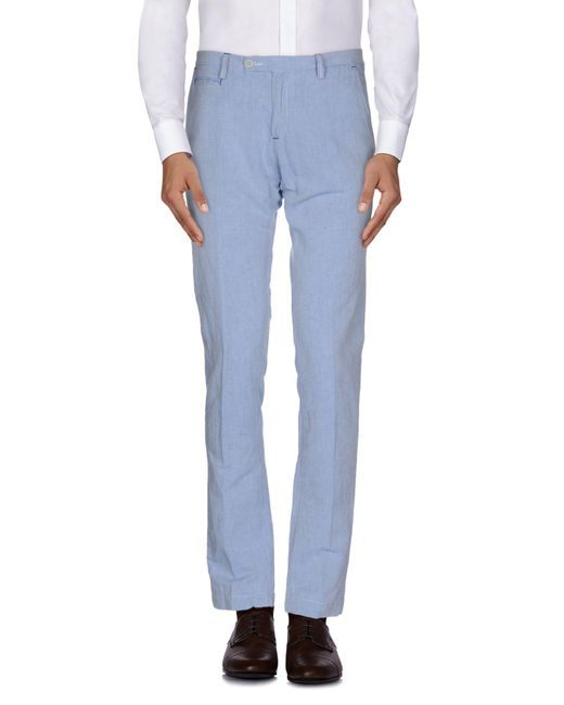 Massimo Rebecchi - Blue Casual Trouser for Men - Lyst