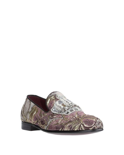 Dolce & Gabbana Gray Loafer
