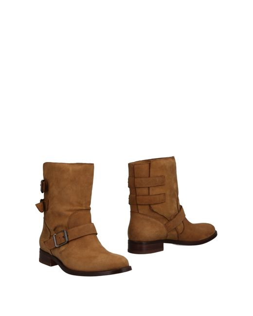 Belstaff Natural Ankle Boots