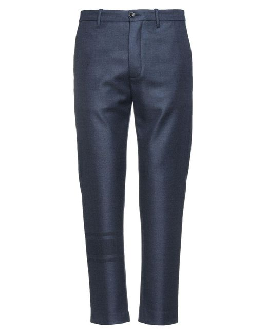 Nine:inthe:morning Blue Casual Trouser for men
