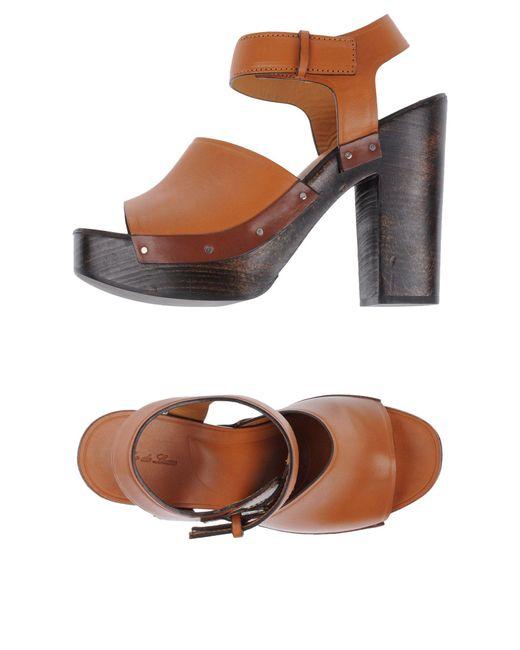 Soho De Luxe   Brown Sandals   Lyst