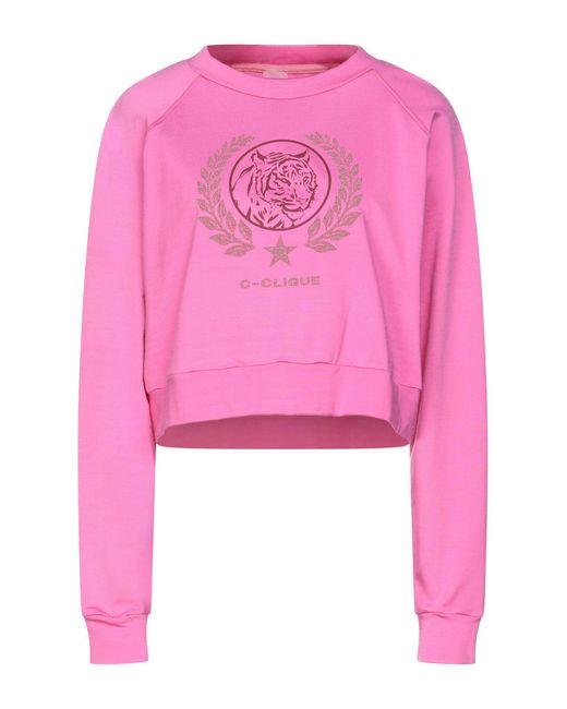 Felpa di C-Clique in Pink