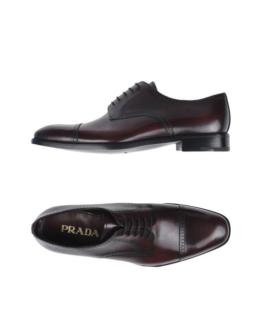 Prada - Multicolor Lace-up Shoe for Men - Lyst