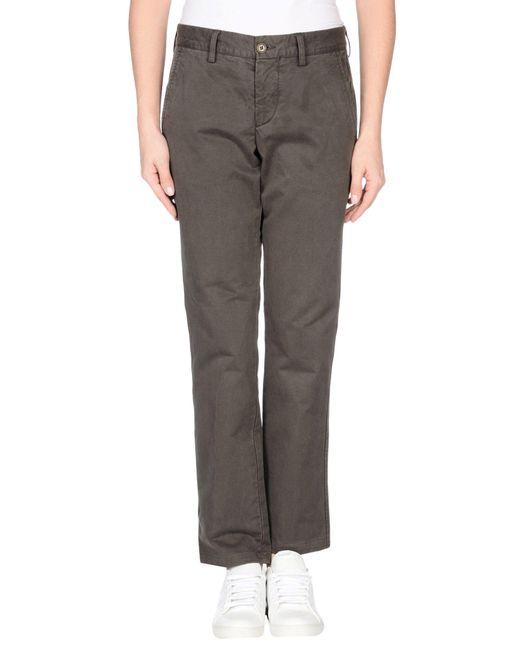 Aspesi | Gray Casual Pants | Lyst