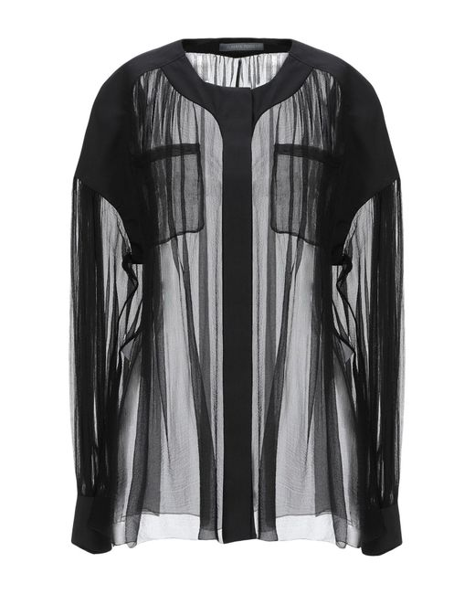 Alberta Ferretti Camisa de mujer de color negro 5DfVu
