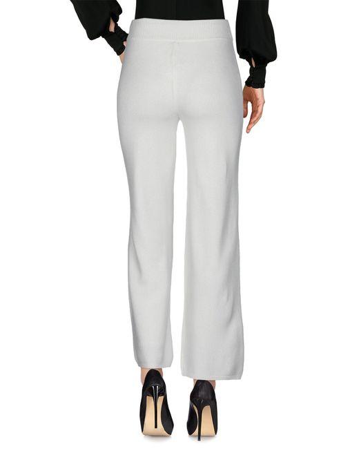 Peserico White Casual Pants