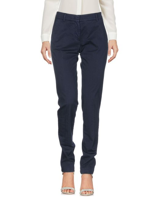 Incotex - Blue Casual Trouser - Lyst