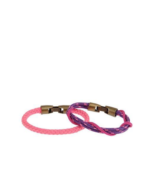 L4k3 - Purple Bracelet - Lyst