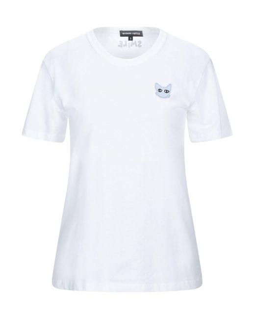 T-shirt di Markus Lupfer in White