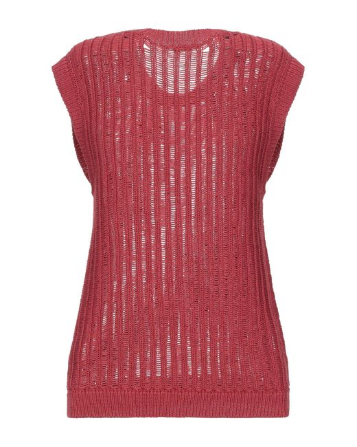Peserico Red Pullover