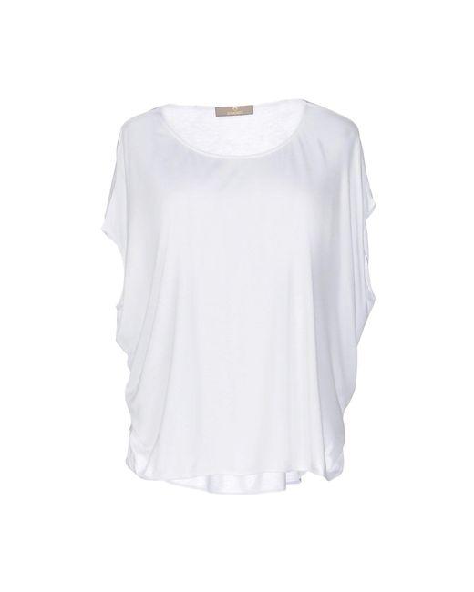 Cruciani - White T-shirt - Lyst