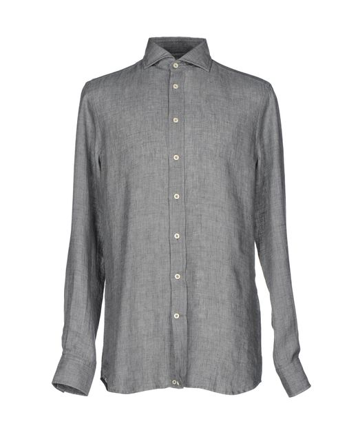 Baldessarini - Gray Shirt for Men - Lyst