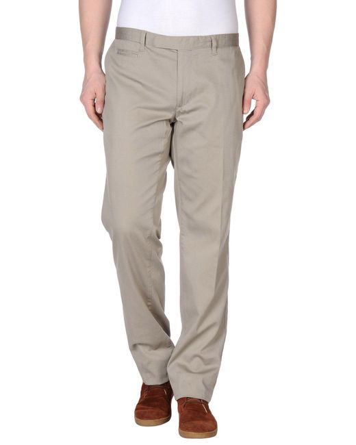 Brooksfield - Gray Casual Trouser for Men - Lyst