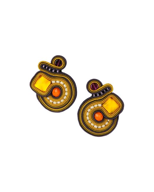 First People First - Yellow Earrings - Lyst