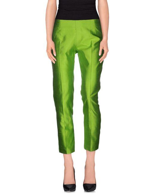 Blugirl Blumarine - Green Casual Pants - Lyst