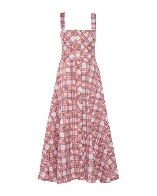 Roy Rogers Pink Langes Kleid