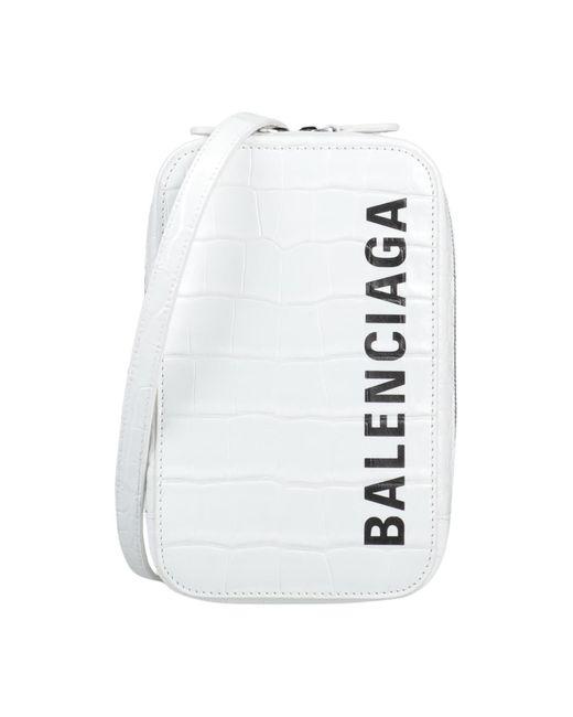 Balenciaga White Cross-body Bag