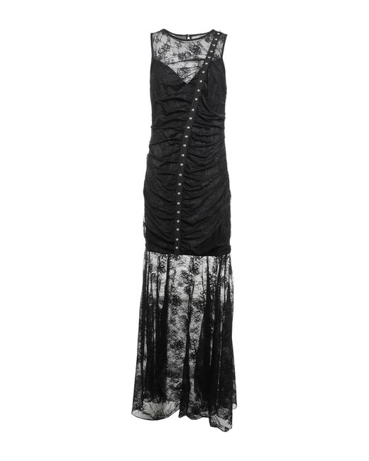 Vestido largo Guess de color Black