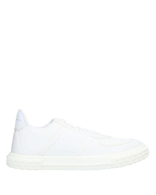 Giuseppe Zanotti Low Sneakers & Tennisschuhe in White für Herren