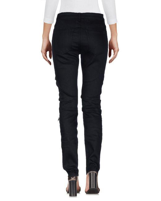 Saint Laurent Black Denim Pants