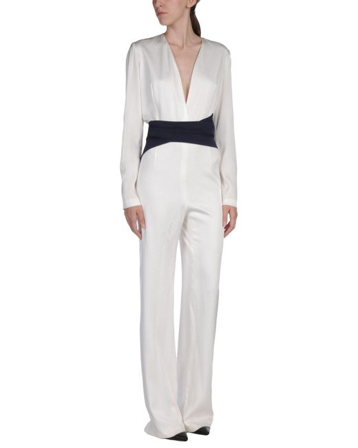 GALVAN  London White Jumpsuit