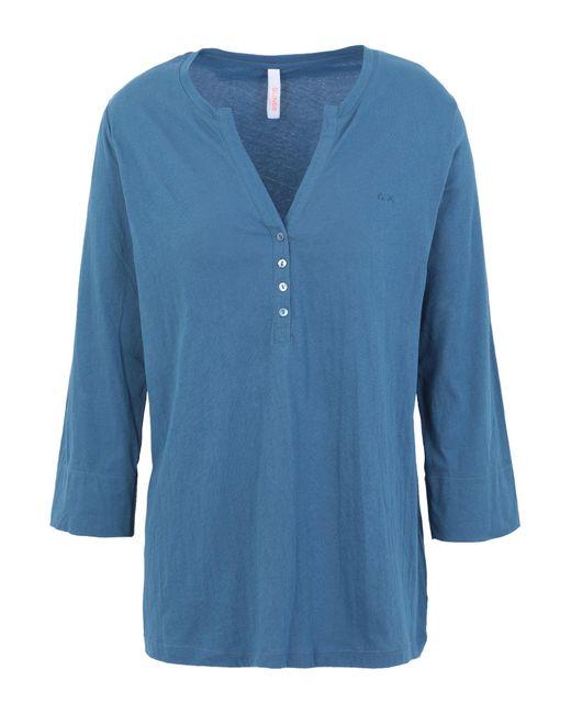 Sun 68 Blue T-shirt