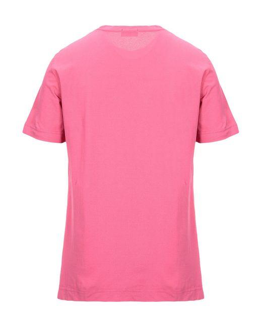 T-shirt Drumohr pour homme en coloris Pink