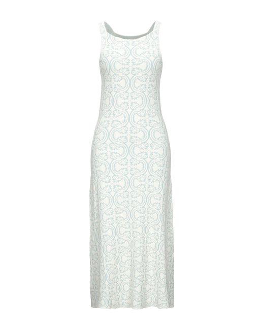 Robe longue Jil Sander en coloris White