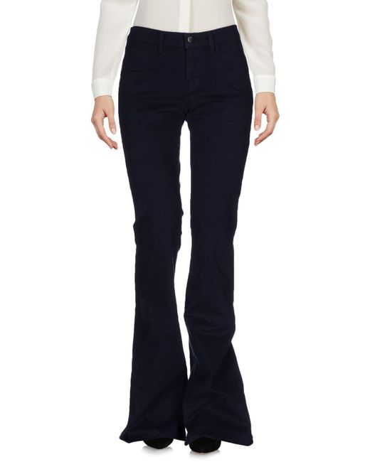 J Brand - Blue Casual Trouser - Lyst