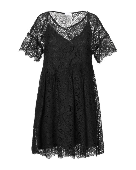 P.A.R.O.S.H. Black Kurzes Kleid