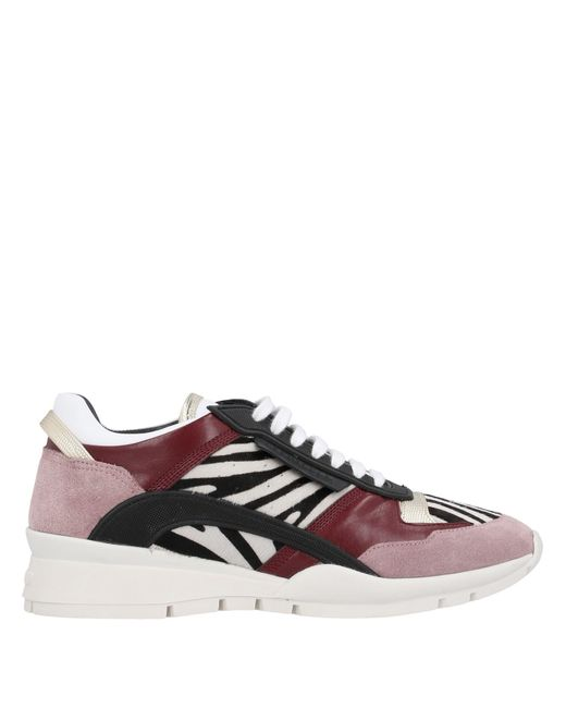 DSquared² Pink Low-tops & Sneakers