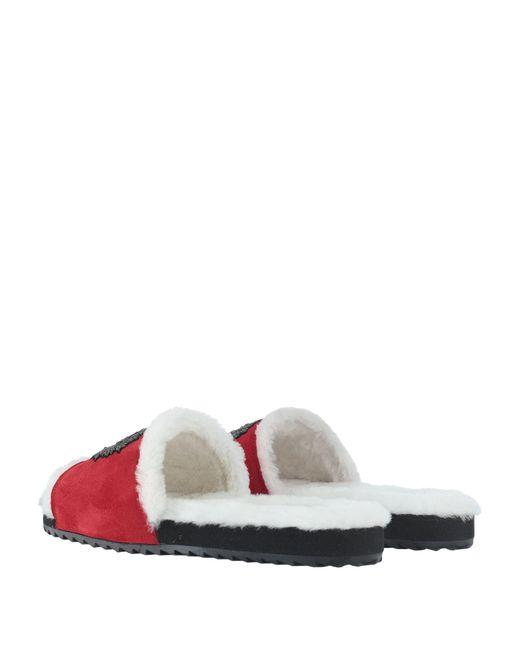 Dolce & Gabbana Red Sandals for men