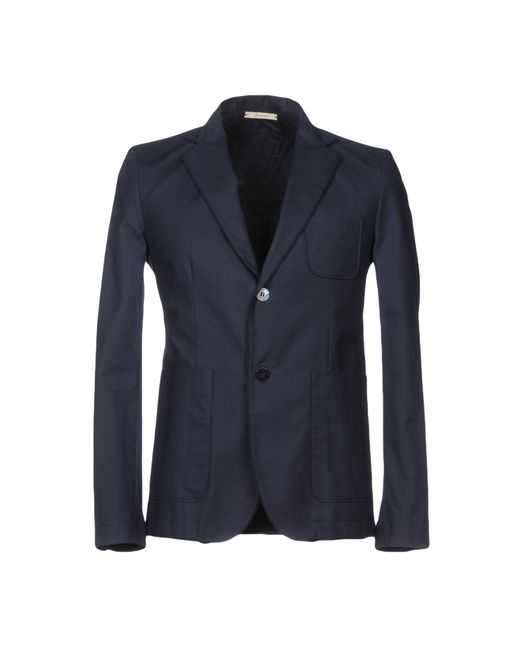 Obvious Basic Blue Suit Jacket for men