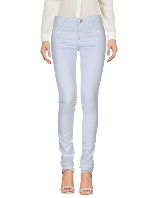 Scee By Twin-set - Blue Casual Pants - Lyst