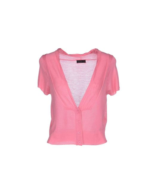 Vero Moda - Pink Cardigan - Lyst