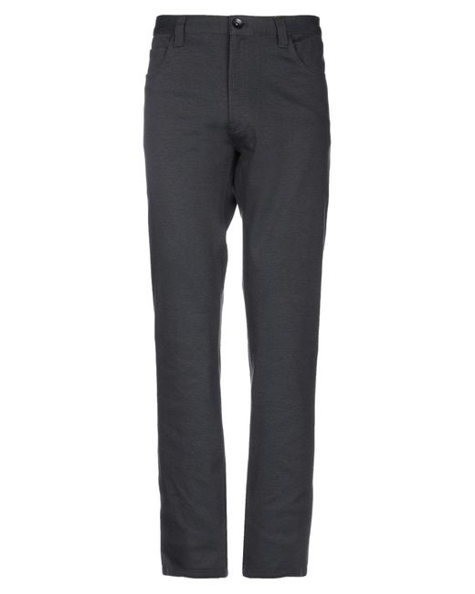 Armani Gray Casual Pants for men