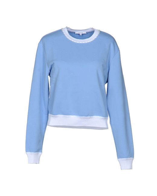 Carven | Blue Sweatshirts | Lyst