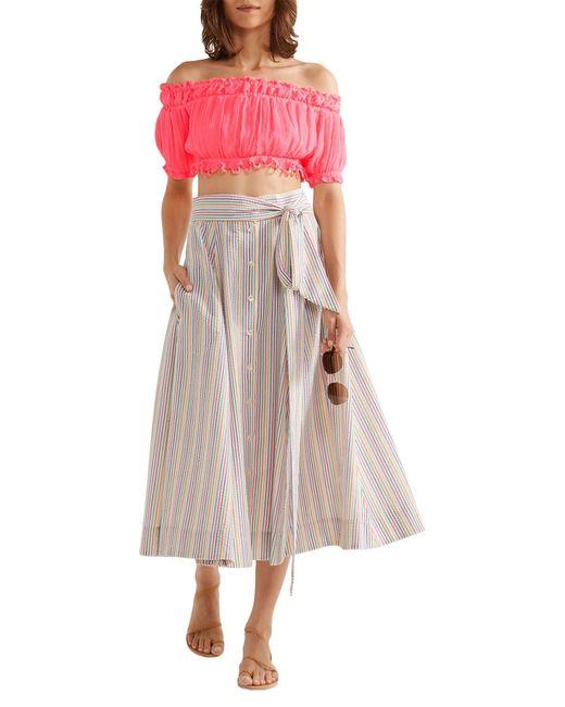 Apiece Apart Blouse femme de coloris rose