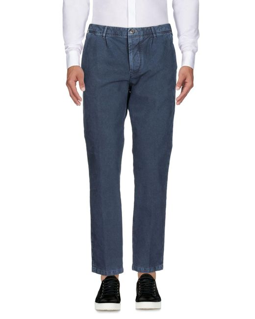 Pantalones Care Label de hombre de color Blue