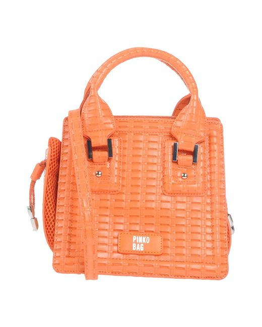 Pinko - Orange Handbag - Lyst