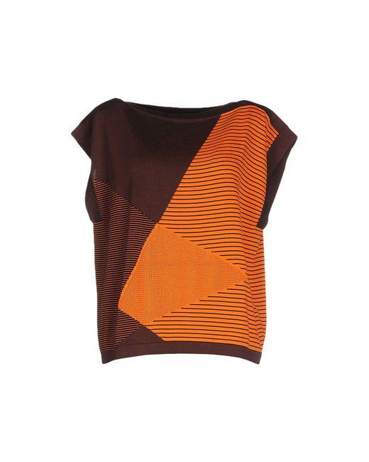 Gentry Portofino - Orange Sweater - Lyst