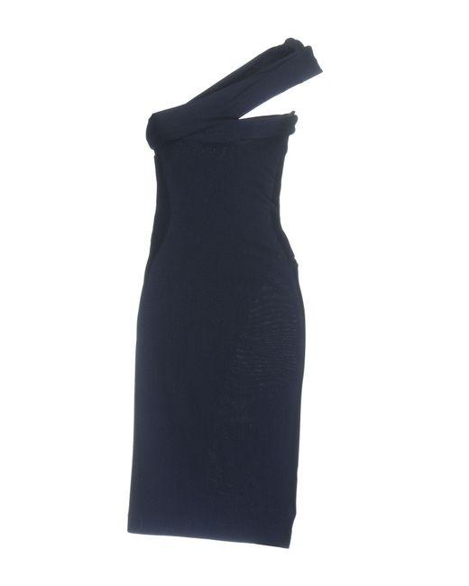 DSquared² Blue Knee-length Dress