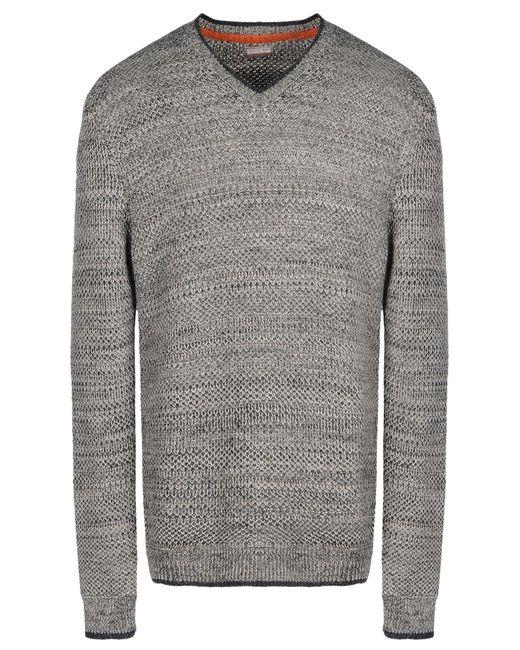 Napapijri - Gray Sweater for Men - Lyst