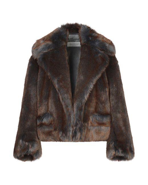 Teddy coat di Dries Van Noten in Brown