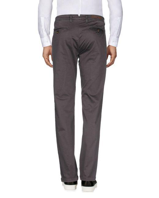 Eleventy Pantalon homme de coloris gris 5fvIl