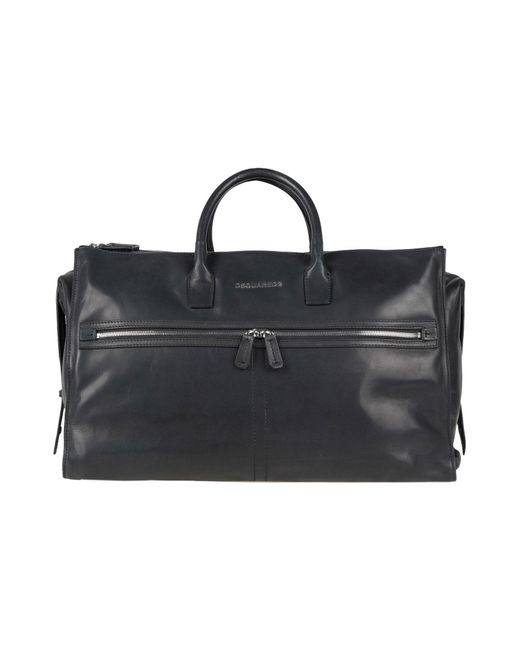 DSquared² - Black Travel & Duffel Bags for Men - Lyst