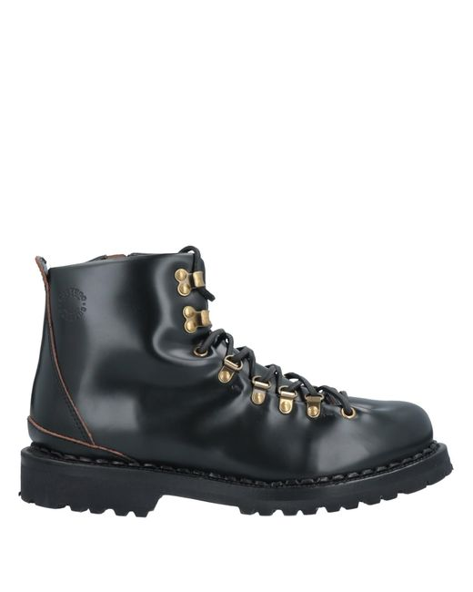 Buttero Black Ankle Boots for men
