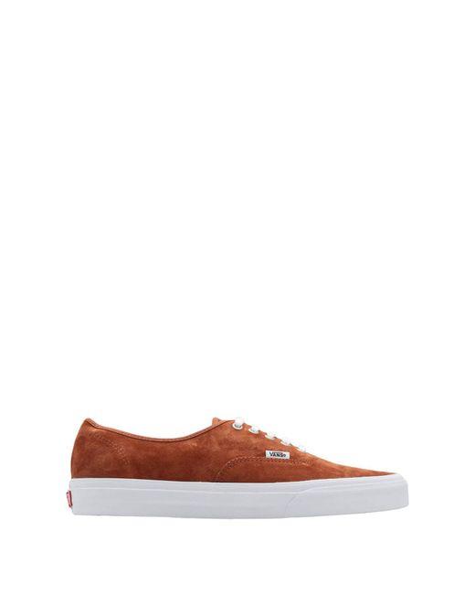 Vans Brown Low-tops & Sneakers for men