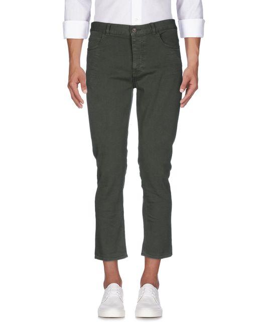 Pence | Green Denim Pants for Men | Lyst